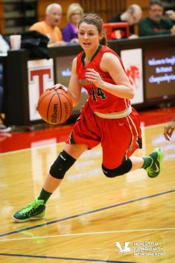 The Woodlands Megan Musso in earlier action from this year.