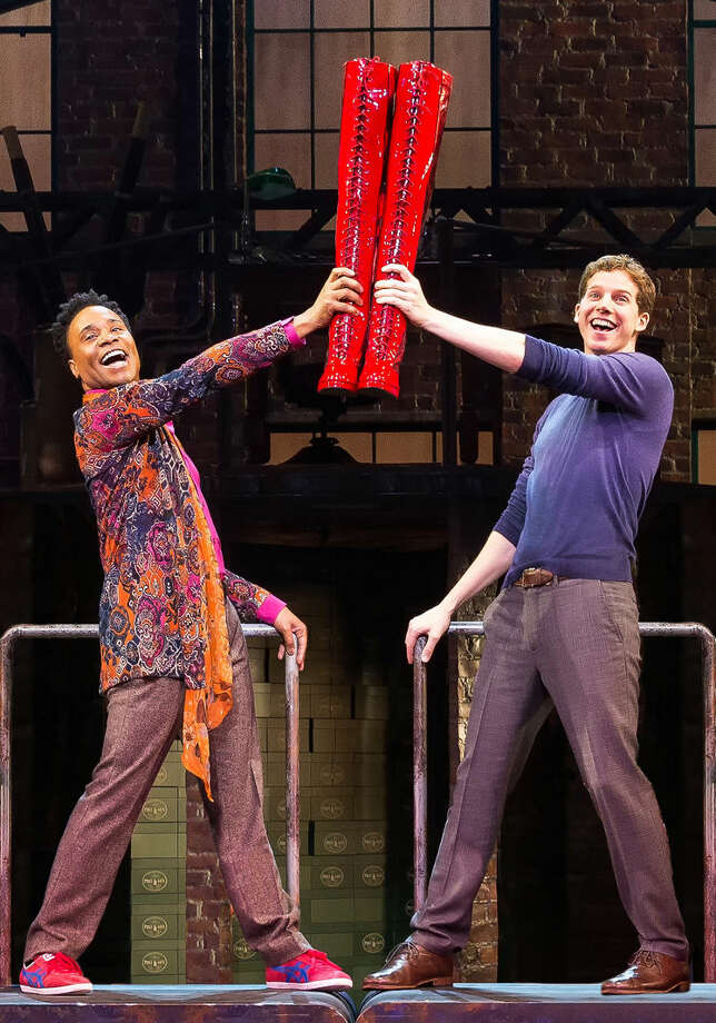 The original Broadway cast of Kinky Boots. Photo: Photo By Matthew Murphy