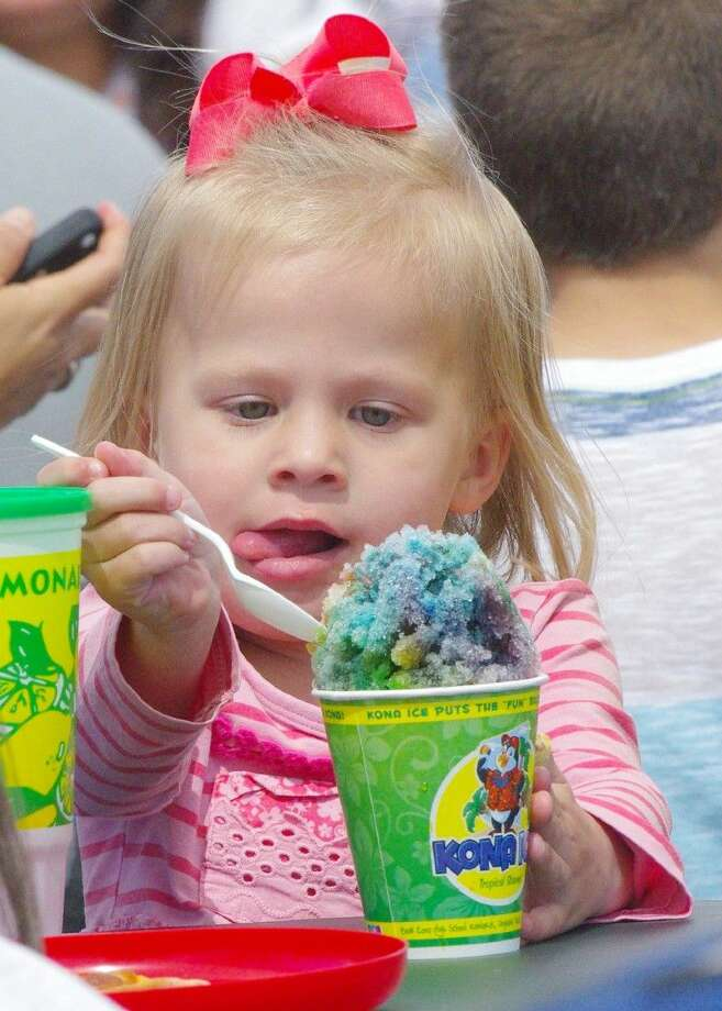 Everyone can find a special treat to enjoy at the Rodeo including snow cones, funnel cakes, corn dogs and much more. This year's Houston Livestock Show and Rodeo runs from March 3-22 at NRG Park in Houston. Photo: Houston Livestock Show And Rodeo