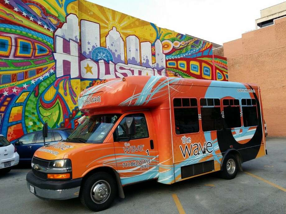 Museum Park Café and Bosta Wine & Coffee (1801 Binz) announced last week they will partner with Houston's only jitney, The Houston Wave, to shuttle people to the Houston Livestock Show and Rodeo.