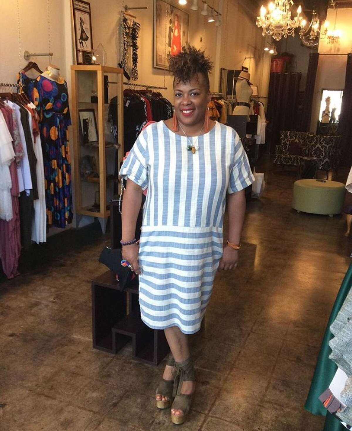 Jackie Adams, owner of Melodrama Boutique