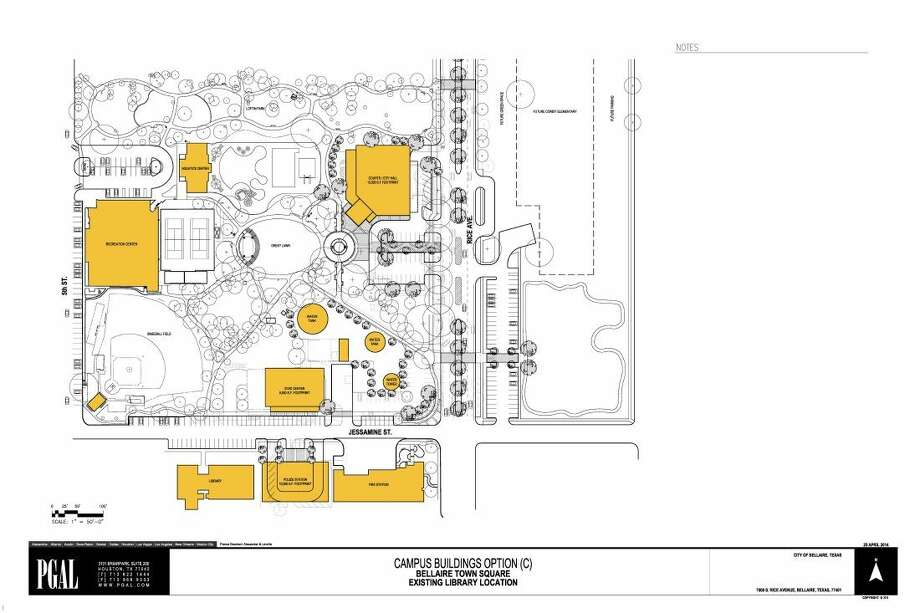 The plan approved by Bellaire City Council is expected to commence in January 2016.