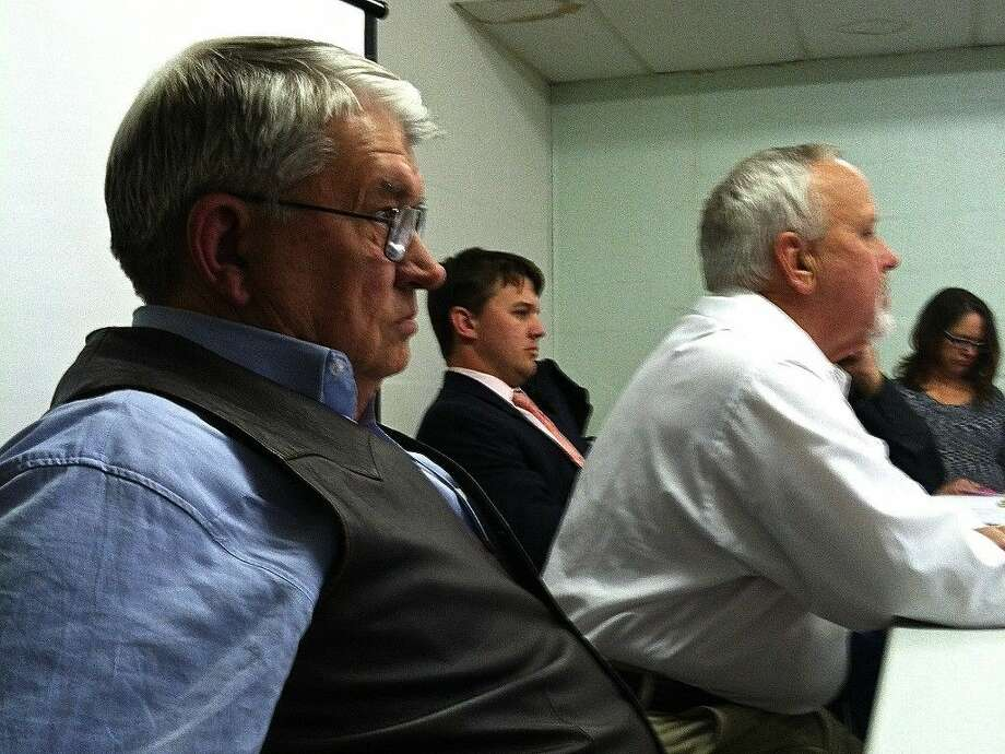 Pct. 2 Commissioner Greg Arthur expressed skepticism about some of what the jail consultant had to say during the commissioners' workshop Tuesday, Feb. 24, 2015. Prior to being elected as commissioner, Arthur was the last Liberty County sheriff to operate the jail. Photo: Casey Stinnett