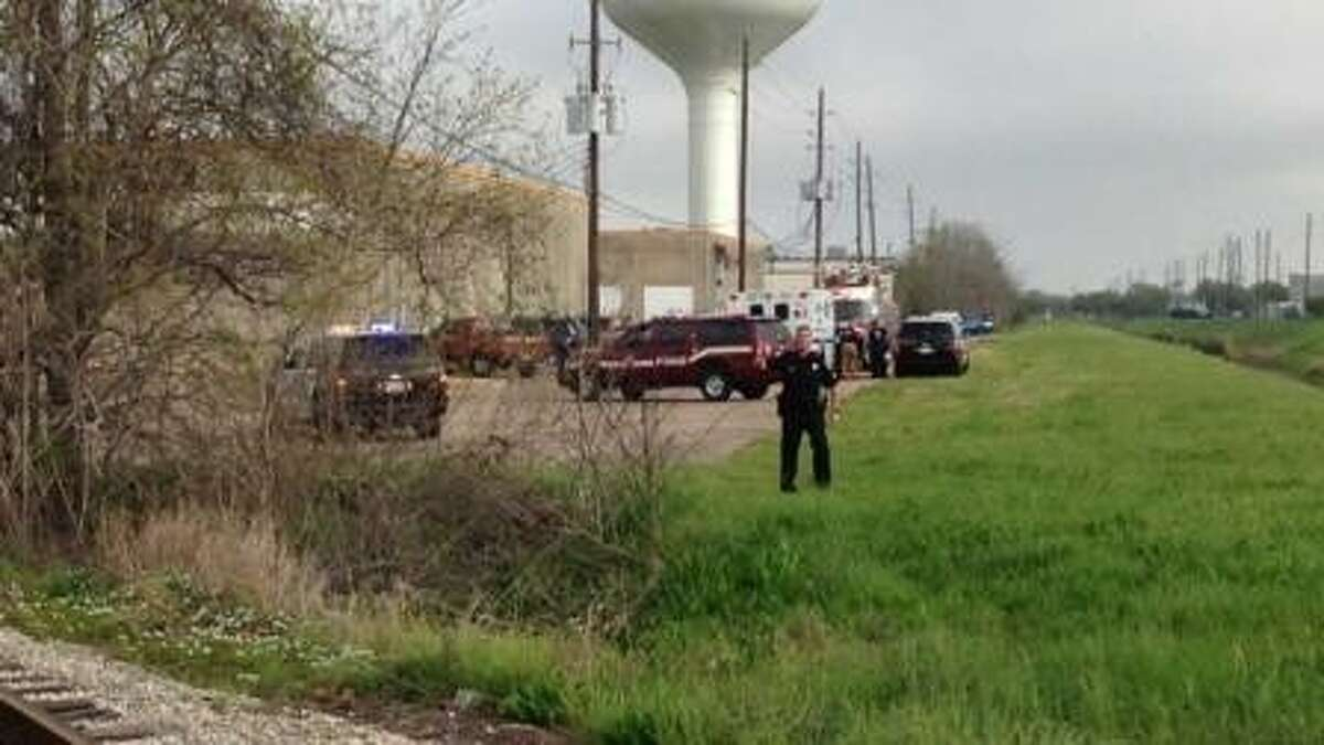 Sugar Land police are investigating a shooting that took place in a business park on Industrial Boulevard.
