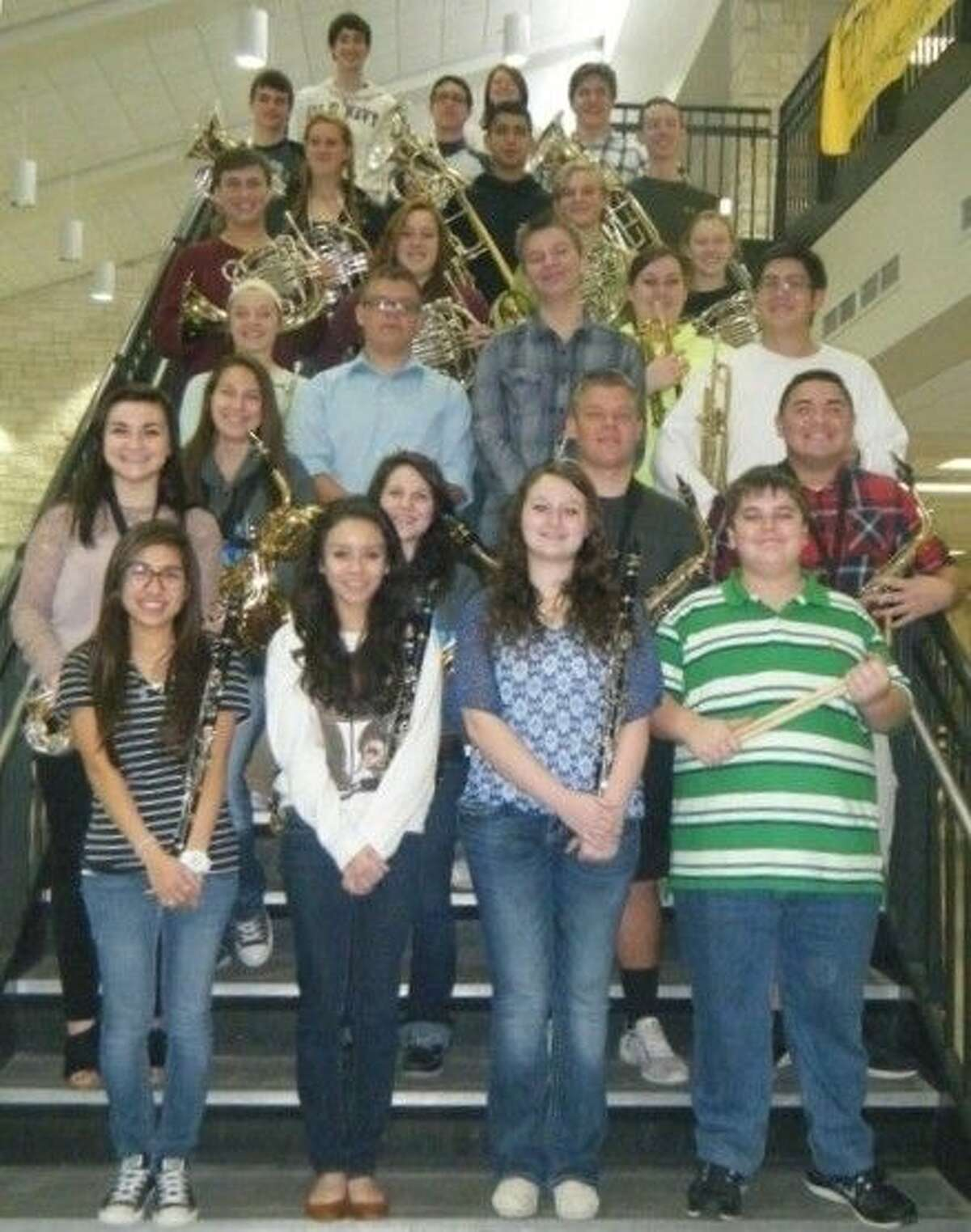 Members of the Tarkington High School Thundering Horns Band earned 33 Superior medals at the Feb. 20 UIL Region 9 Solo and Ensemble competition.