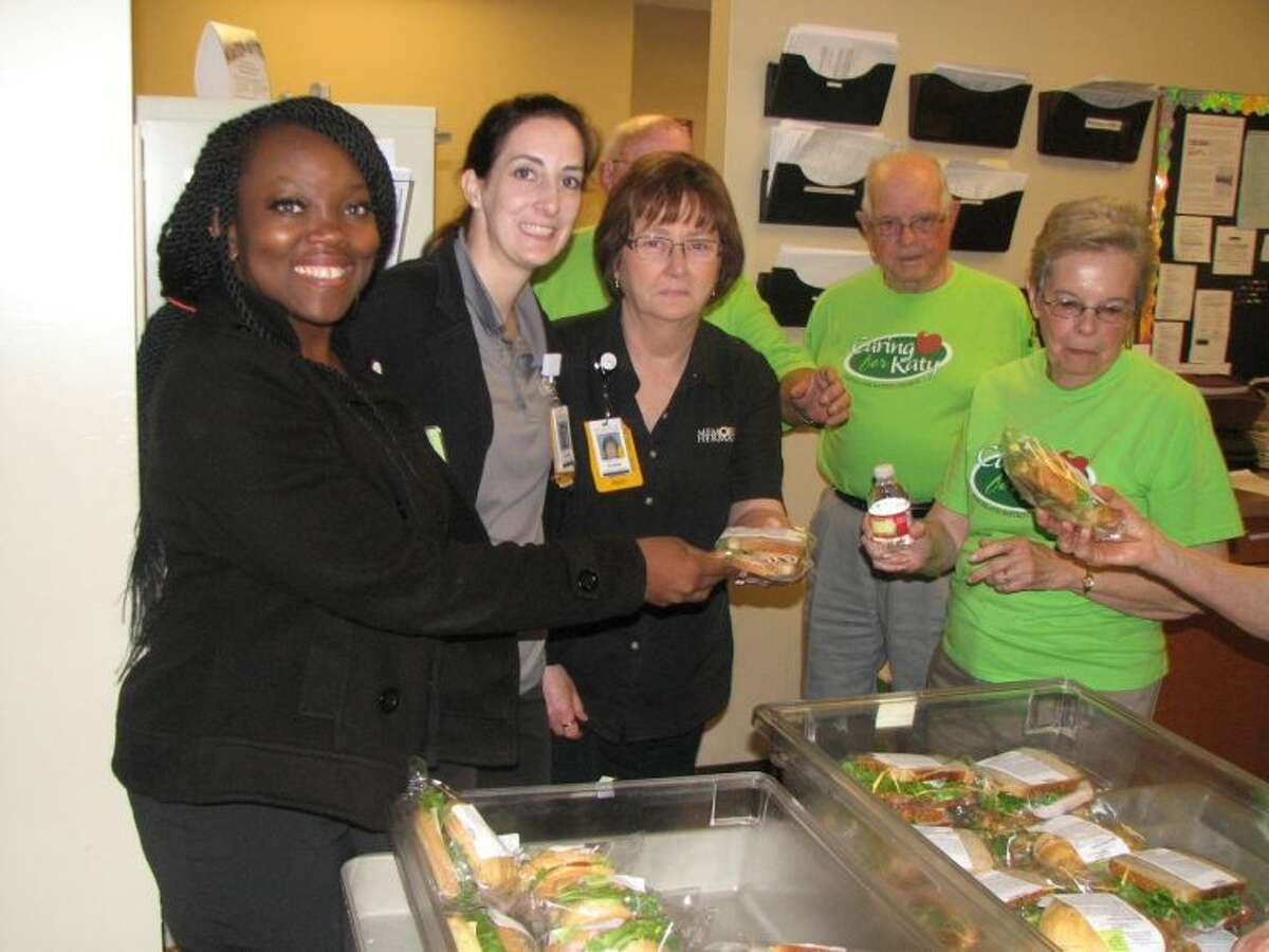 More than 200 hospital employees enjoyed sandwiches and beverages courtesy of the church.