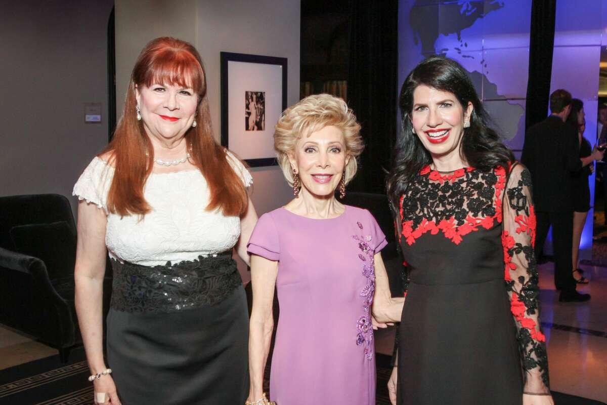 Barbara Van Postman, Margaret Alkek Williams and Dr Kelli Cohen Fein