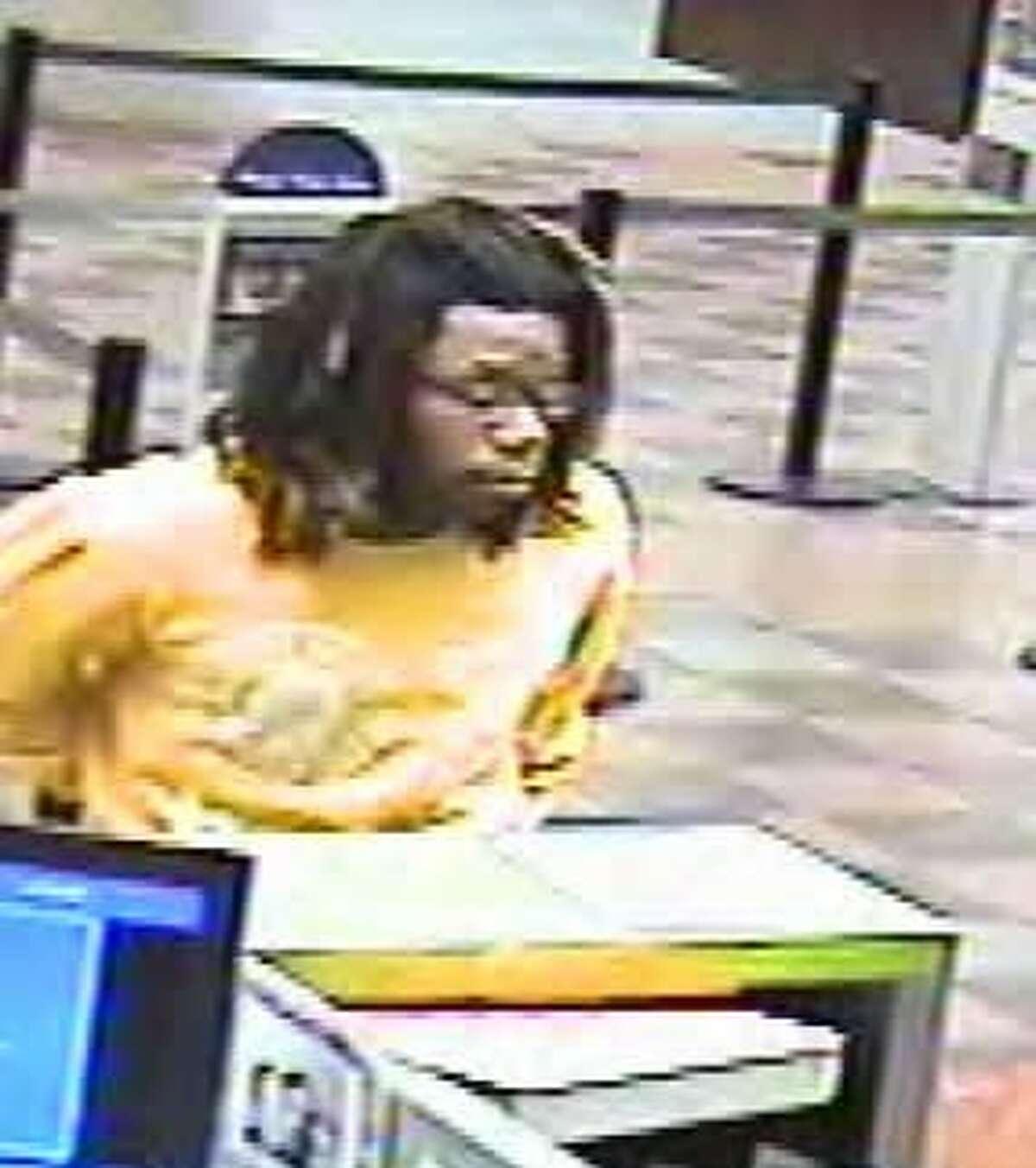 Bank surveillance photo of second suspect.