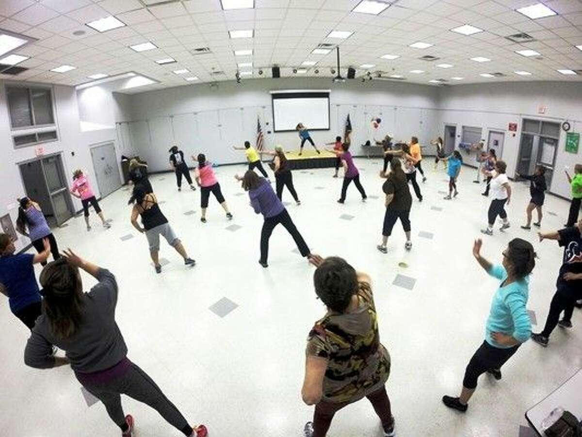 More than 40 residents turned out for the first Precinct 4 Zumba class at Tomball Community Center.