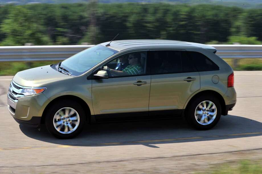 File Photo Of A  Ford Edge Federal Regulators Have Opened A New Investigation Into