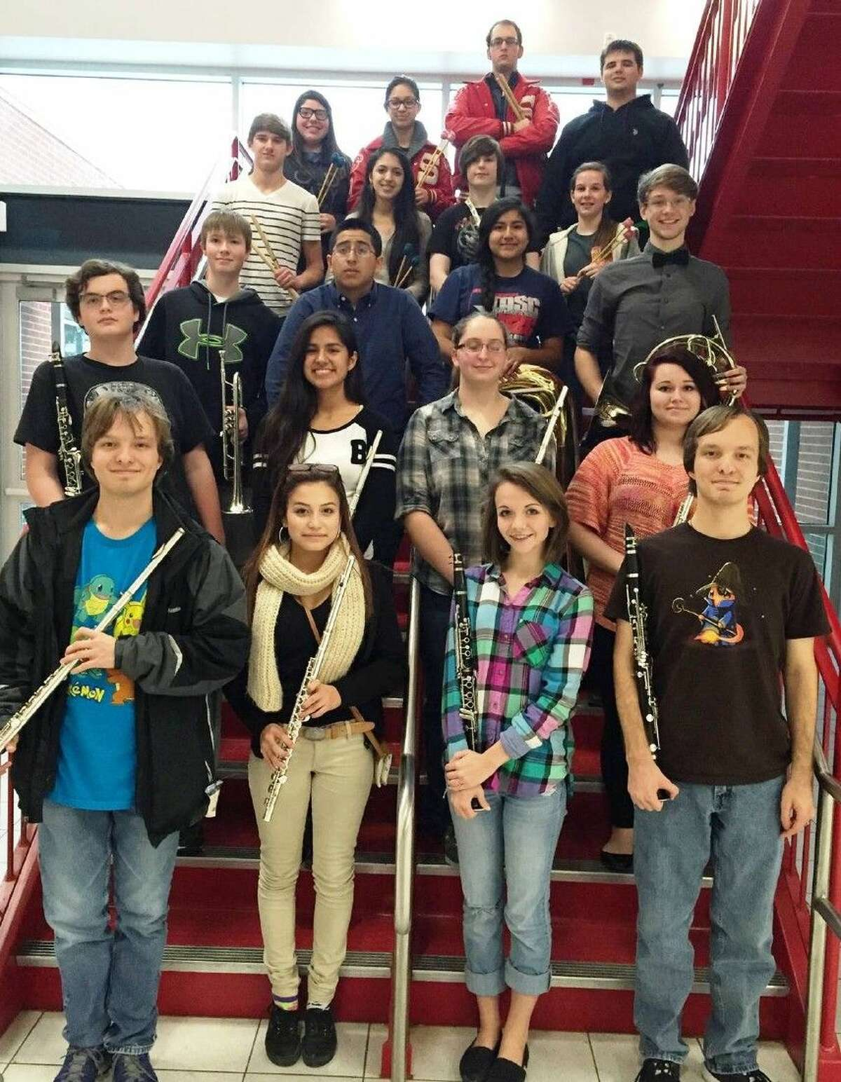 Splendora High School Band students win first division at UIL State & Ensemble competition.