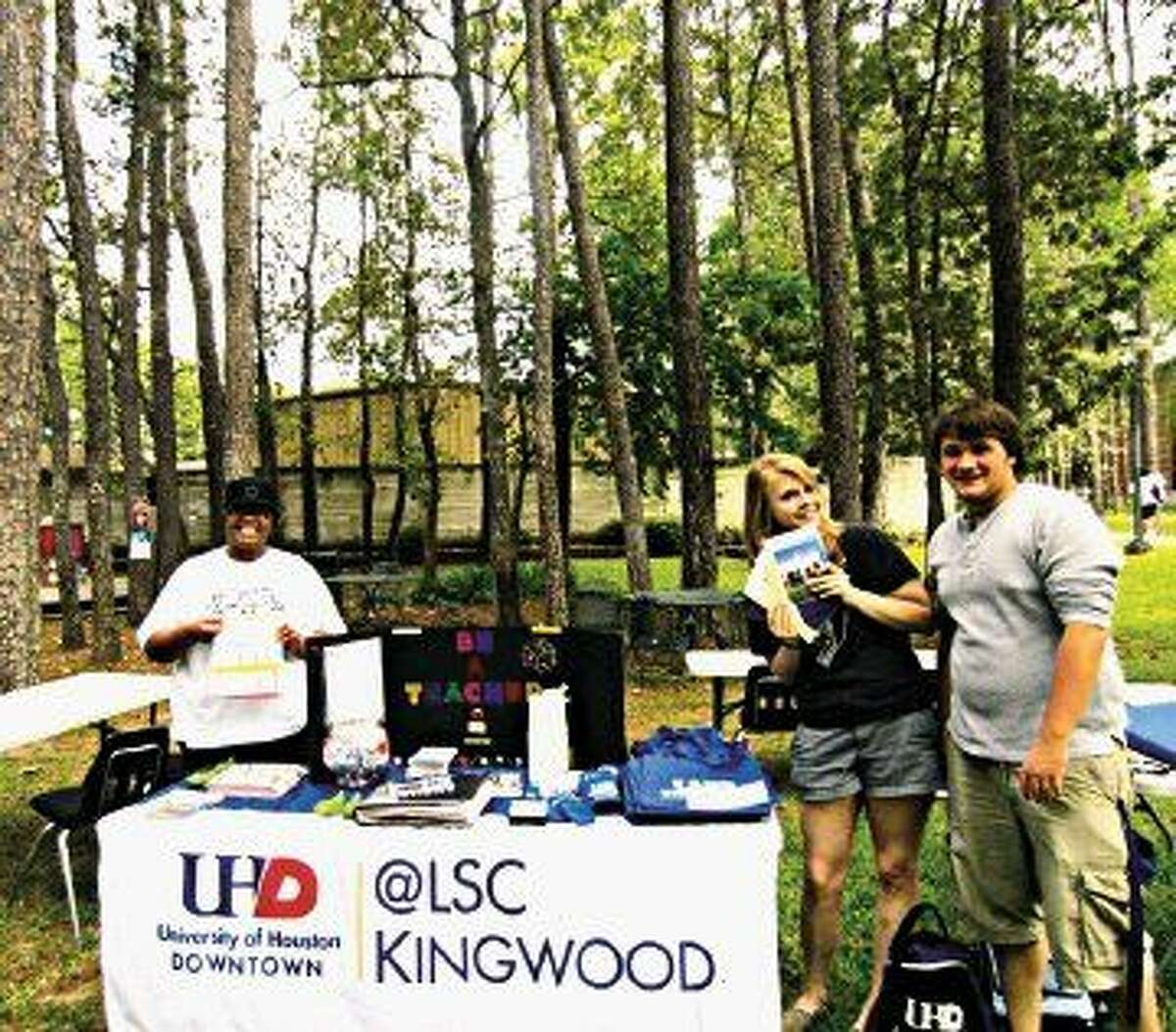 LSC-Kingwood and UHD will have a joint information session on Wednesday, March 4 from 5-7 p.m. For more information, call 281-312-1733.