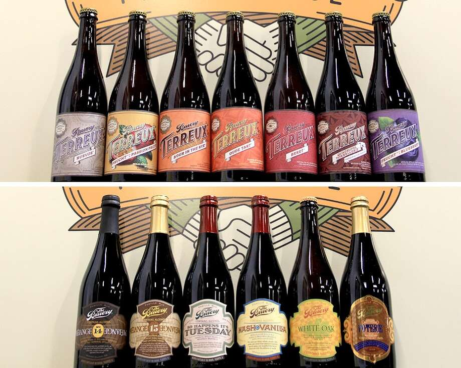 The Bruery and related Bruery Terreux of Orange County, Calif., recently began Houston distribution. Photo: The Bruery & Bruery Terreux And Foodbeast
