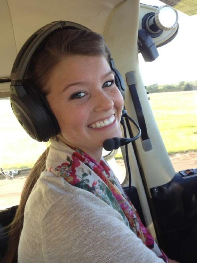 Cleveland High School Senior Cassie Campbell will be graduating this year with not only her high school diploma, but a pilot's license as well. Photo: Submitted Photo