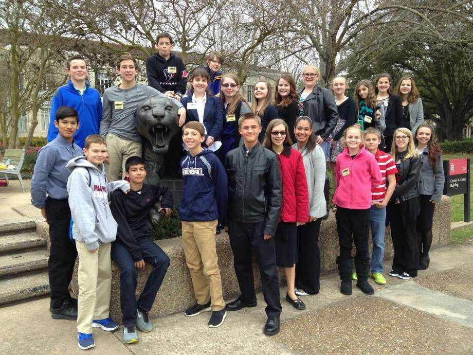 Magnolia ISD students at the Science Engineering Fair of Houston. Photo: MISD