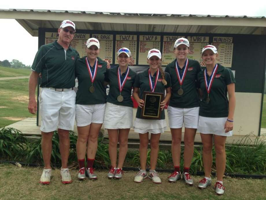 The Woodlands girls captured the District 14-5A golf championship Thursday in Huntsville.