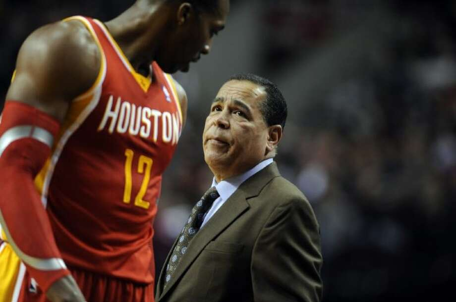 Kelvin Sampson moves from the Rockets' bench to the head coach at the University of Houston.
