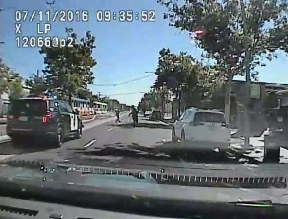 Footage released last month by the Sacramento Police Department shows the police shooting death of Joseph Mann, 51, who suffered from mental illness. Photo: Sacramento Police Department