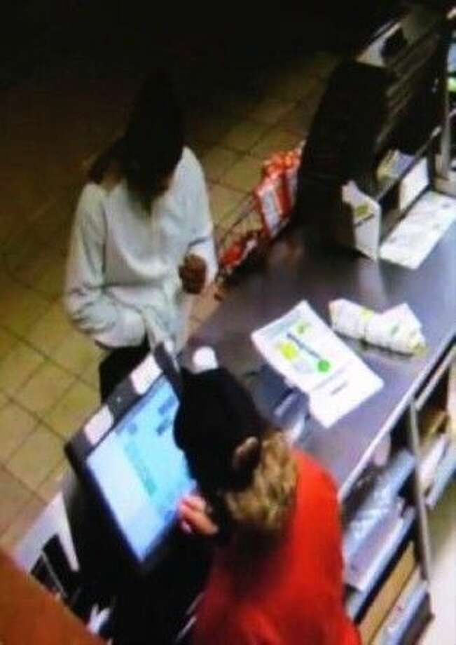 Surveillance image from the Galveston robbery.