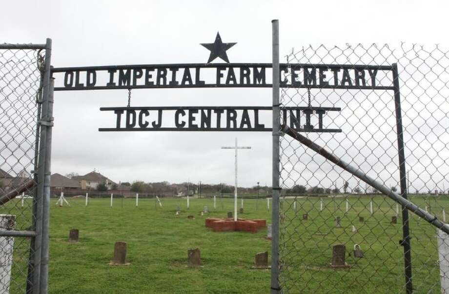 The Old Imperial Prison Farm Cemetery in Sugar Land on Saturday, March 15. To view or purchase this photo and others like it, go to HCNPics.com. Photo: Alan Warren
