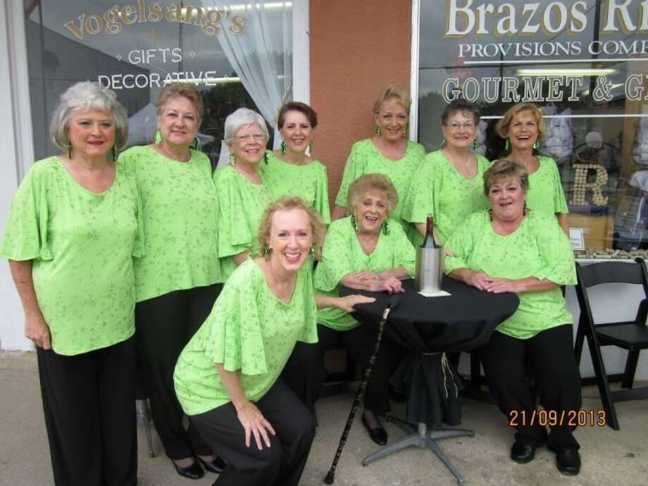 The Cradle of Texas Chorus, a very popular barbershop chorus, affiliated with Sweet Adelines International, will entertain Loving Friends with their wonderful blend of harmony Tuesday, April 15. Photo: Submitted Photo