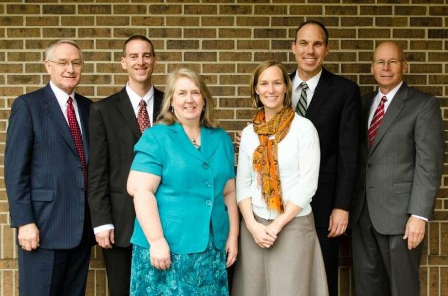 Elder Stanley G. Ellis, Daryl Scott, Apryl Scott, Alexis Schmitt, Jonathan S. Schmitt and Elder Daniel W. Jones.