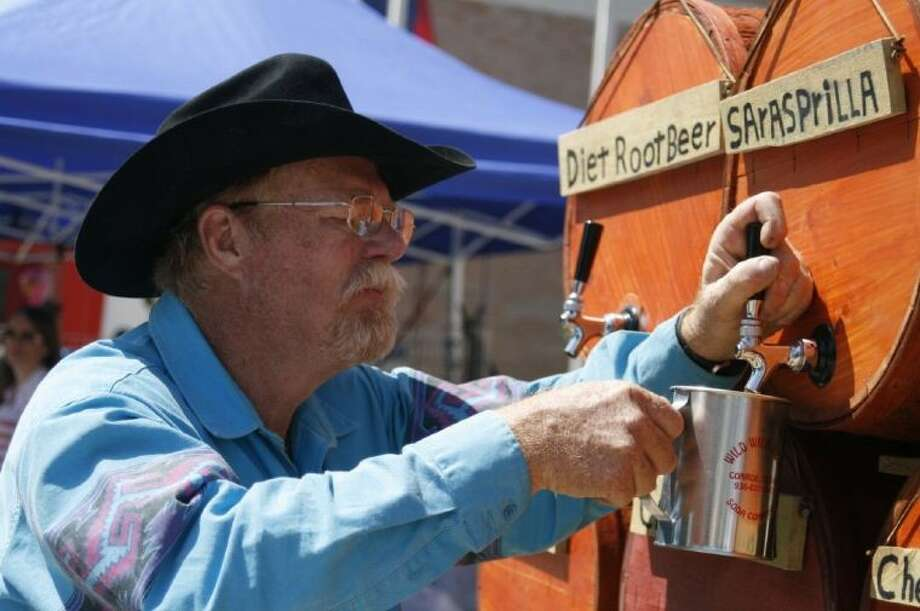Guests can even sample craft sodas during this year's Texas Sawmill Festival April 26, 2014.
