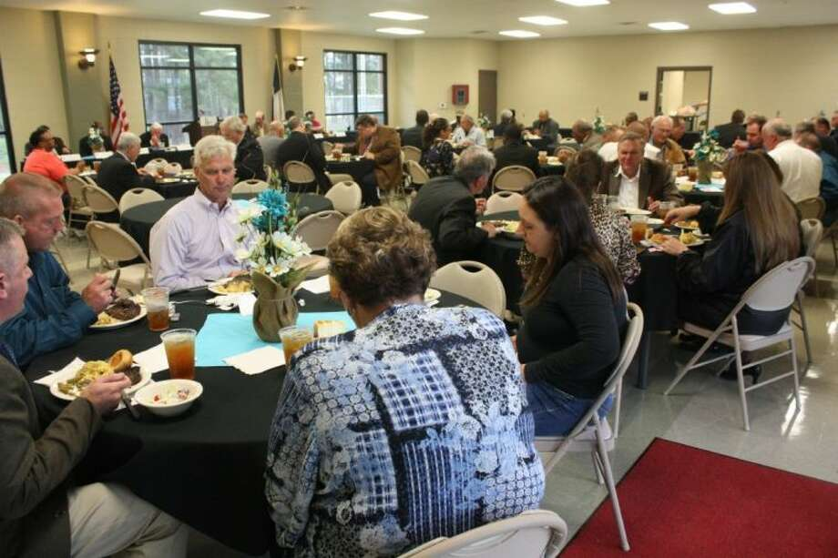 Citizens, commissioners, mayors and others from 13 different counties came together under one roof for the DETCOG meeting on March 27. Photo: JACOB MCADAMS