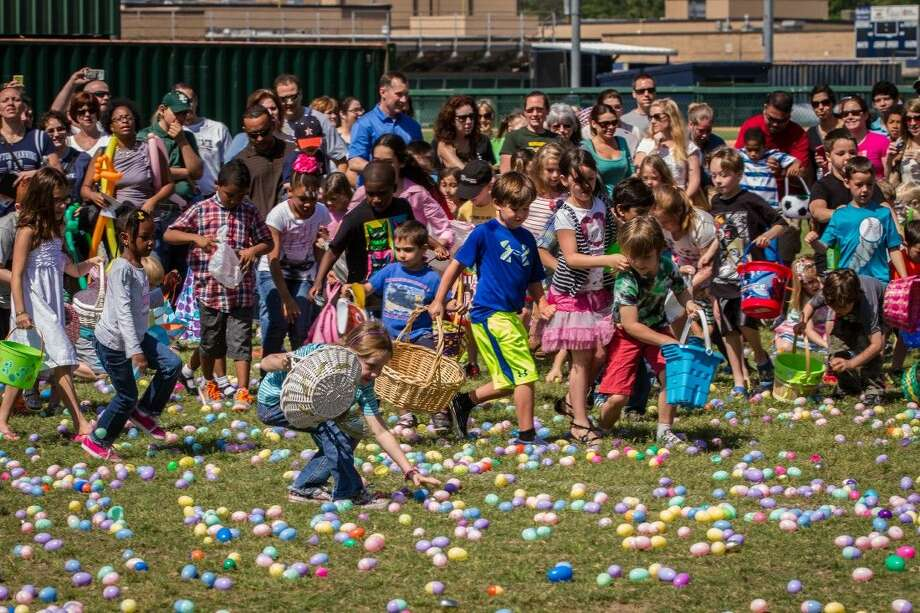 The annual Easter Egg Scramble will be held on Saturday, April 4 from 10 a.m. - noon and held at Kingwood High School.