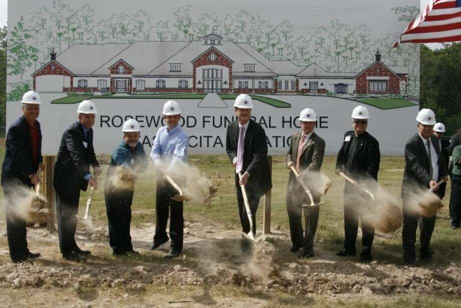 Rosewood Funeral Home broke ground on its Atascocita location in 2013.