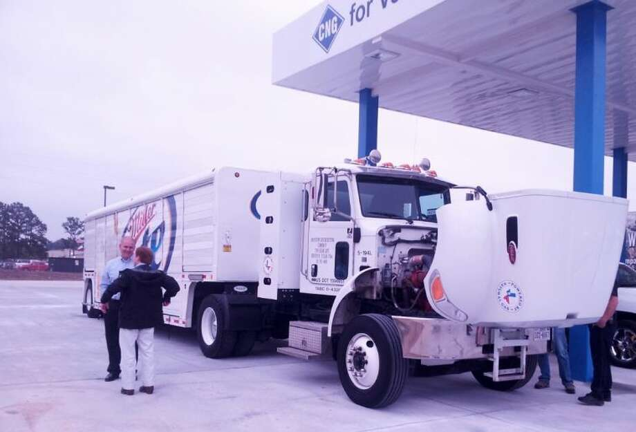 Freedom CNG has opened a new natural gas fueling station in northwest Harris County.