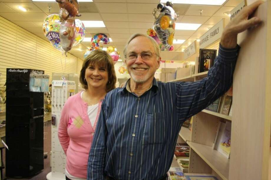 Brian and Glenda Roddy have operated The Giving Tree for nearly 32 years. On Monday, the store will close. Photo: Y.C. OROZCO