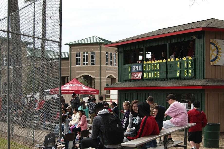 Despite cold weather and rain delays, the 31st Annual Cleveland Rotary Club Baseball and Softball Tournament carried on March 6-7, 2015. The Cleveland Indians took third place, beating Shepherd, 6-4, at Hal McClelland field on Saturday. Photo: Casey Stinnett
