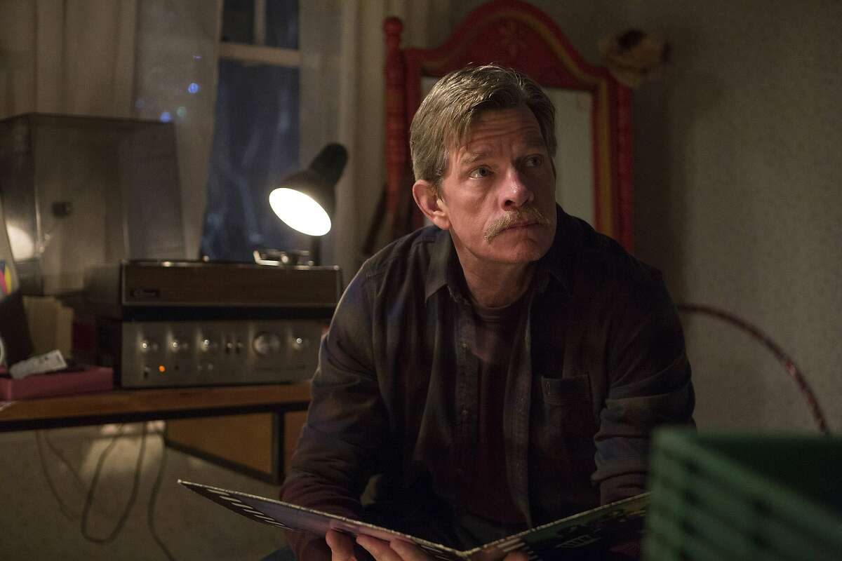 Thomas Haden Church, who calls the Texas Hill Country his home, with the scowl that makes his put-upon husband character so funny in 'Divorce' on HBO.