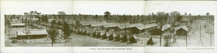 Camp Logan from the Brazoria County Historical Museum Collection.