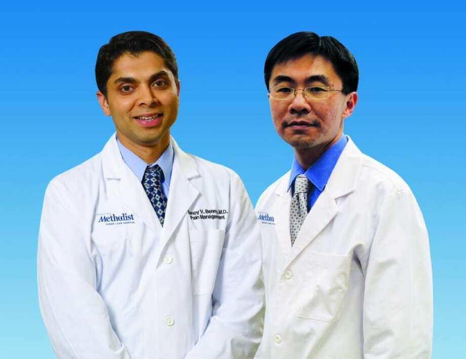 Benoy Benny, M.D. and Vincent Wang, M.D.