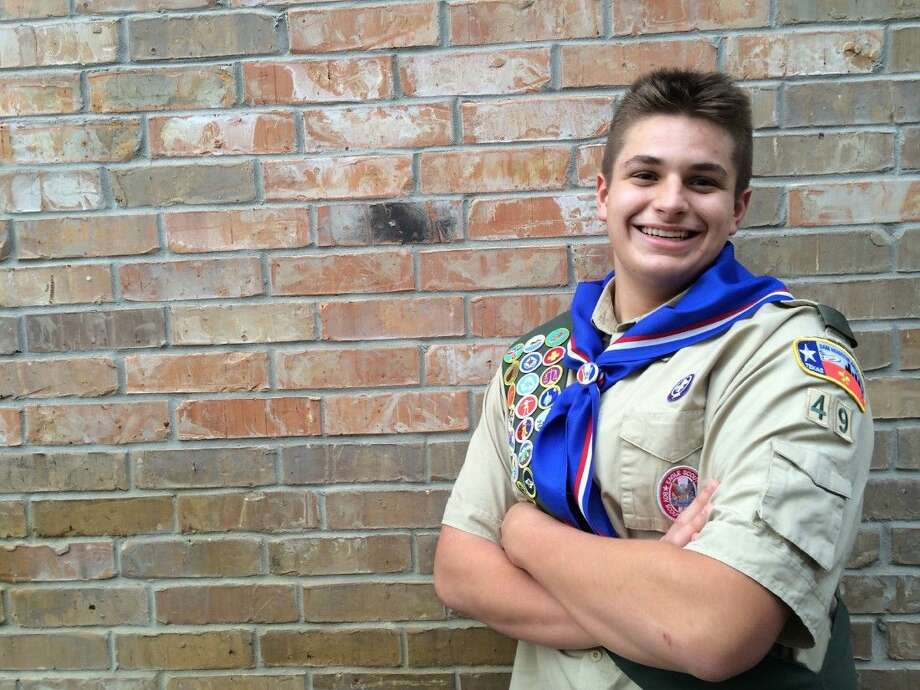 Matt Howard followed in his grandfather's footsteps by becoming an Eagle Scout this year. Photo: Submitted Photo