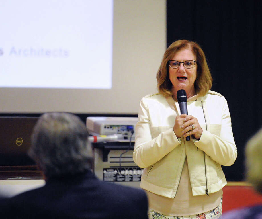 FILE: New Lebanon School Principal Barbara Riccio is retiring at the end of the 2018-19 school year. Photo: Bob Luckey Jr. / Hearst Connecticut Media / Greenwich Time