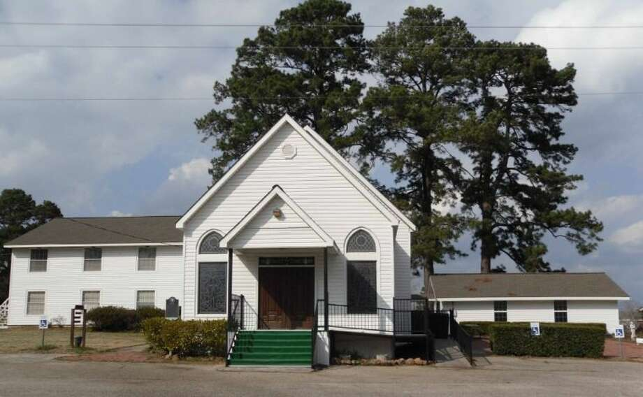Thee Evergreen Congregational Church was established in 1900. Photo: JACOB MCADAMS