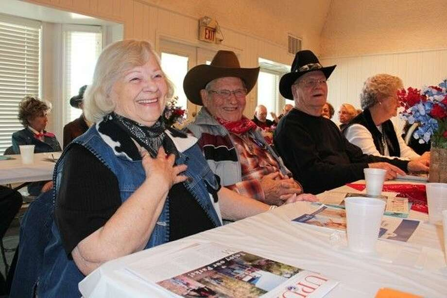 Residents enjoyed a musical performance during Precinct 4's Rodeo Roundup Luncheon. Photo: Submitted Photo