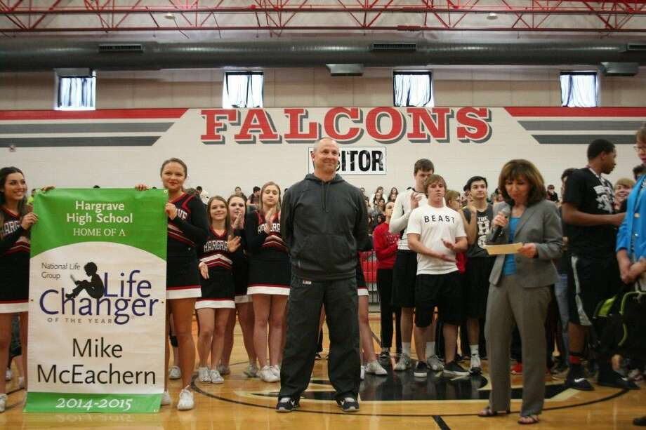 Huffman Independent School District Athletic Director Mike McEachern was named the National Life Group's Life Changer of the Year. Photo: Nate Brown