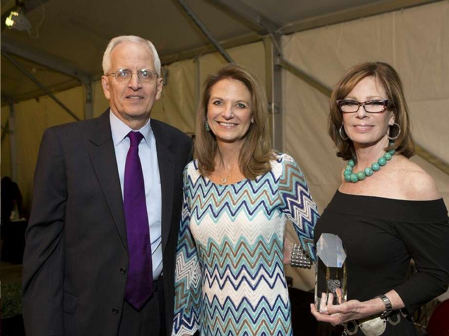 Jim Porter, Chairman of MPC Board, Cindy Broiles - Volunteer/Ways & Means Chair and Deborah Keener Brown, the Club's President