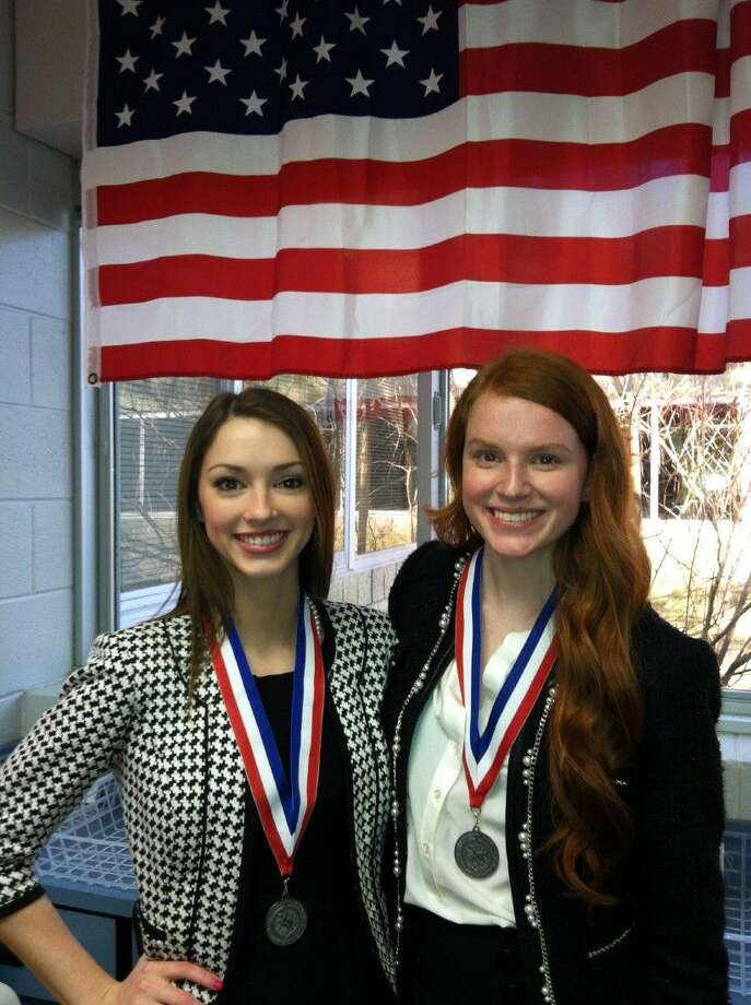 The Friendswood High School Forensics team of Nicole Bluth and Madelyn Warren won second place at the UIL Speech Meet and will advance to the UIL State meet in March.