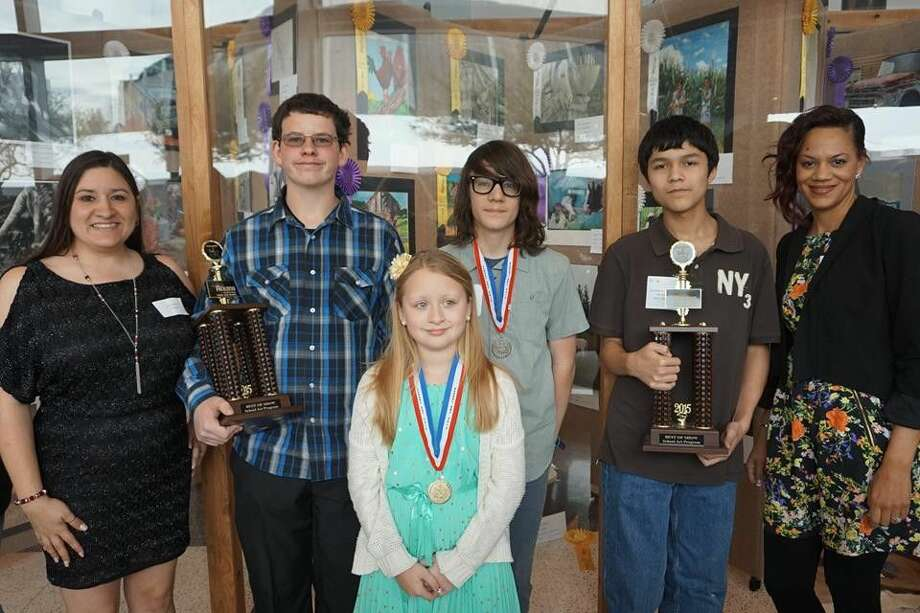 The 2014-2015 Houston Livestock Show and Rodeo Art competition was a huge success for Crosby Independent School District.