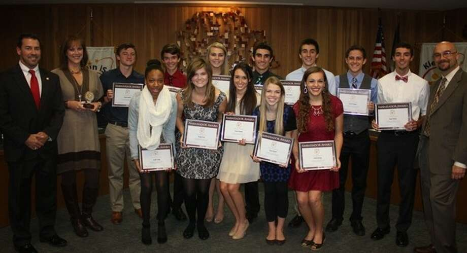 A video presented by the Klein Oak Student Council has earned state recognition. Photo: Submitted Photo
