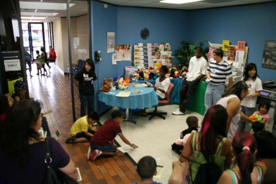 The United Way of Greater Houston's Fort Bend Service Center, during a recent health fair.