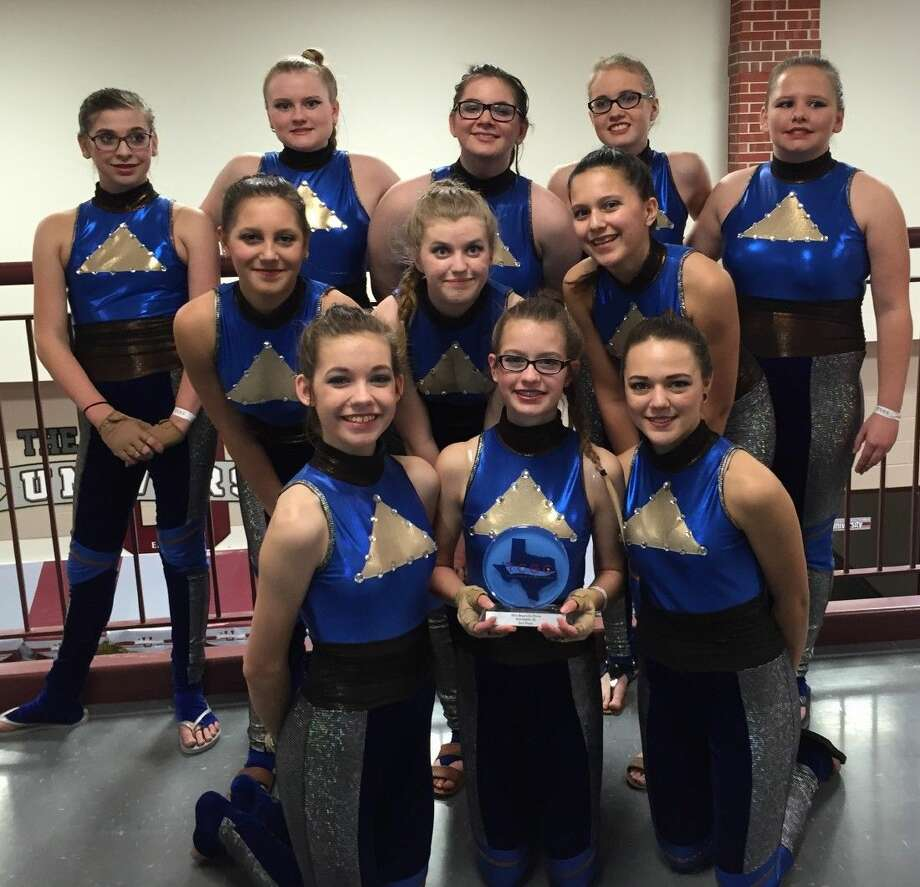 The JV Color Guard Team placed second in a recent competition.