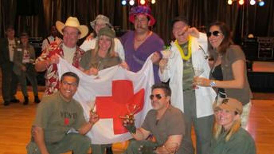 1st Place Costume Contest - St. Michael's Emergency Room and Mitchell and Duff. Photo: Photo Courtesy Fort Bend County Women's Center