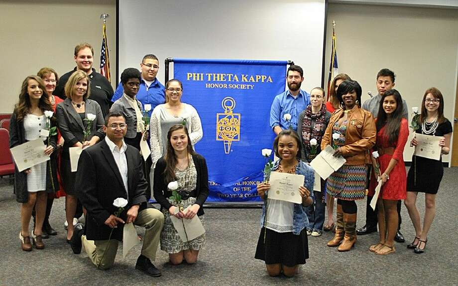 The newest members of the ACC Chapter of Phi Theta Kappa were inducted in a ceremony on March 2.