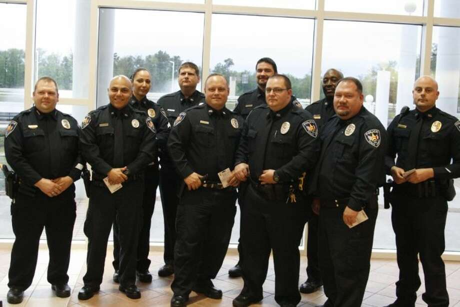 For the first year, Roman Forest Police Department Officers were recognized and honored for their service throughout the years.